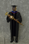 Dr. Godson C. Obia, Commencement marshal by Beverly J. Cruse