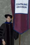 Dr. Jeanne Snyder, Faculty marshal by Beverly J. Cruse