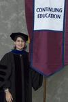 Dr. Jeanne Snyder, Faculty marshal