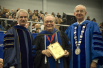 Dr. Blair M. Lord, Provost and Vice President for Academic Affairs, Dr. Charles Eberly, Luis Clay Mendez Distinguished Service Award, Dr. William L. Perry, President