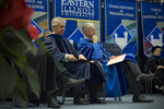 Dr. Blair M. Lord, Provost and Vice President for Academic Affairs, Dr. William L. Perry, President