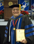 Dr. Charles Eberly, Luis Clay Mendez Distinguished Service Award by Beverly J. Cruse