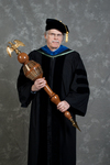 Dr. Andrew D. McNitt, Commencement marshal by Beverly J. Cruse