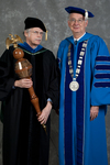 Dr. Andrew D. McNitt, Commencement marshal, Dr. William L. Perry, President by Beverly J. Cruse