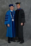 Dr. William L. Perry, President, Dr. Newton E. Key, Faculty marshal