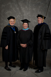 Dr. Diane H. Jackman, Dean, College of Education & Professional Studies, Ms. Donna K. Martin, Charge to the class, Dr. Douglas J Bower, Associate Dean, College of Education & Professional Studies by Beverly J. Cruse