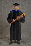 Dr. Reed Benedict, Commencement marshal