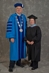 Dr. William L. Perry, President, Ms. Donna K. Martin, Charge to the class