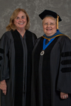 Dr. Kathlene S. Shank, Luis Clay Mendez Distinguished Service Award, Dr. Diane H. Jackman, Dean, College of Education & Professional Studies