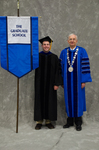 Dr. Matthew J. Gill, Faculty Marshal, Dr. William L. Perry, President