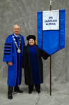 Dr. William L. Perry, President, Dr. Lynne E. Curry, Commencement Marshal