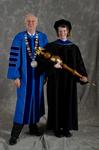 Dr. William L. Perry, President, Dr. Carrie M. Dale, Commencement Marshal