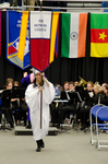 Ms. Lena F. Elmuti, Honors College Banner Marshal