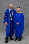 Dr. William Perry, University President, Mr. David Closson, Student Speaker