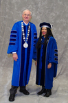 Dr. William Perry, University President, Dr. Jan Spivey Gilchrist, Board of Trustees Member