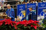 Dr. William Perry, University President, Mr. Mitchell Gurick