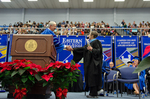 Dr. William Perry, Mrs. Vickie Burke, Commencement Speaker
