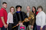 Dr. Linda Simpson,  Commencement Marshal, Family