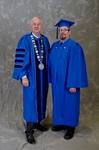 Dr. William L. Perry, University President,  Mr. Joe Johnston, Student Speaker