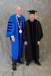 Dr. William L. Perry, University President, Dr. William Addison, Faculty Marshal