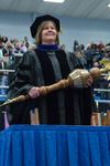Dr. Linda Simpson,  Commencement Marshal