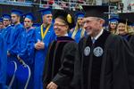 Dr. Robert Augustine, Dean, The Graduate School, Mr. Paul McCann, Interim Vice President for Business Affairs