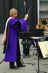 Dr. Alicia Neal, Director of Eastern Illinois University's Wind Symphony