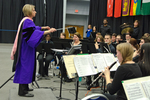 Dr. Alicia Neal, Director of Eastern Illinois University's Wind Symphony by Beverly J. Cruse