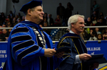 Dr. David M. Glassman, University President, Dr. Blair Lord, Provost and Vice President for Academic Affairs by Beverly J. Cruse