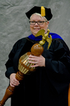 Dr. Lisa M. Moyer, Commencement Marshal by Beverly J. Cruse