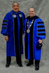 Mr. Rene M. Hutchinson - BOT Chairperson, Dr. David M. Glassman, University President