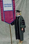 Dr. Patricia Belleville, Faculty Marshal by Beverly J. Cruse