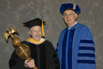 Dr. Vince Gutowski, Commencement marshal, Dr. William L. Perry, President