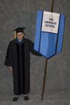 Dr. Andrew D. McNitt, Faculty marshal by Beverly J. Cruse