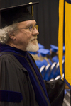 Dr. Gary S. Foster, Faculty marshal