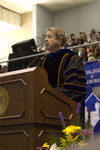Dr. H. Ray Hoops, Honorary degree recipient, charge to the class