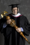 Dr. William J. Searle, Commencement marshal