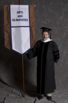 Dr. Bailey K. Young, Faculty marshal by Beverly J. Cruse