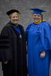 Dr. Diane H. Jackman, Dean, College of Education and Professional Studies, Ms. Peggy Brown by Beverly J. Cruse