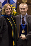 Dr. Kathlene S. Shank, Chair, Department of Special Education, Mr. Justin Gross, Livingston Lord Scholar