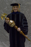 Dr. Deborah A. Woodley, Commencement Marshal by Beverly J. Cruse