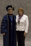 Dr. Bonnie D. Irwin, Dean, Honors College, Dr. Margaret Messer by Beverly J. Cruse