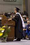 Dr. Janet M. Treichel, Honorary degree recipient, charge to the class