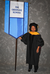 Dr. Assege HaileMariam, Faculty marshal by Beverly J. Cruse