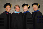 Dr. Robert M. Augustine, Dean of the Graduate School, Ms. Julie A. Lupien, Charge to the Class, Dr. Mary Anne Hanner, Dean of the College of Sciences, Dr. Gail Richard, Chair of Communication Disorders and Sciences