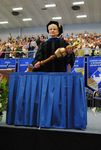 Dr. Mary Anne Hanner, Commencement marshal