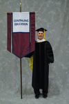 Dr. Craig M. Eckert, Faculty marshal by Beverly J. Cruse