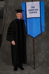 Dr. Brent Walker, Faculty marshal