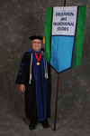 Dr. Charles G. Eberly, Faculty marshal
