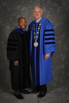 Dr. Rodney P. McClendon, Charge to the class,  Dr. William L. Perry, President